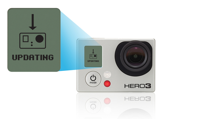 Resetar password Wifi en GoPRO HERO 3+ Silver